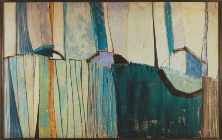 Terry Frost, Blue Winter 1956   © The Estate of Sir Terry Frost