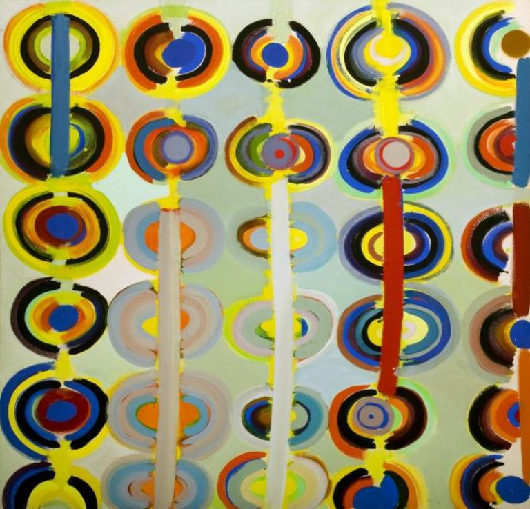 Terry Frost, Autumn Rings Andeuze, September 1971 1983