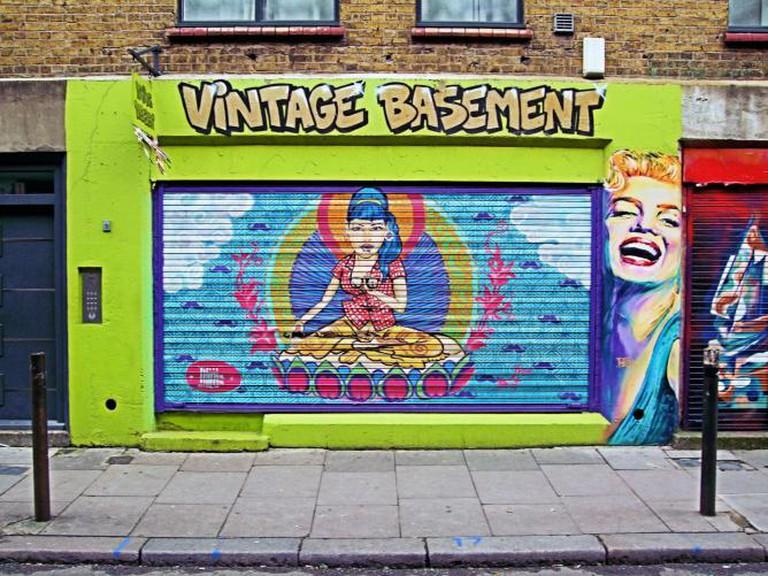 Whitechapel Mural | © Jim Linwood/Flickr