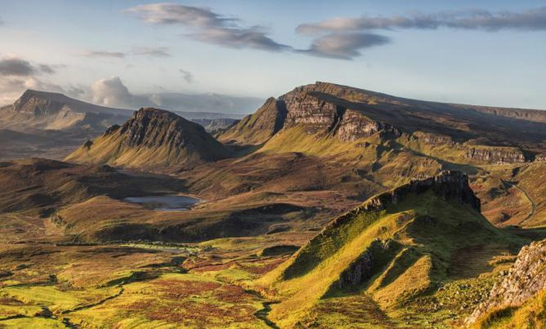 The view across the Quiraing