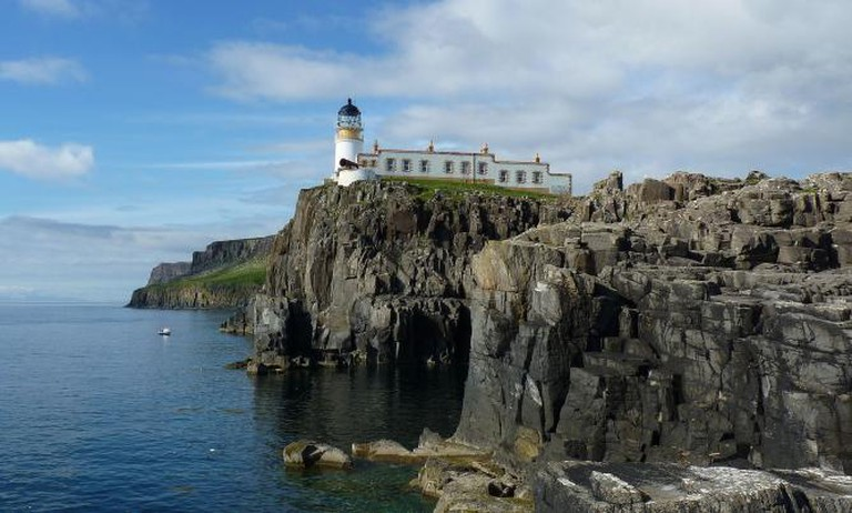 The lighthouse at Neist Point