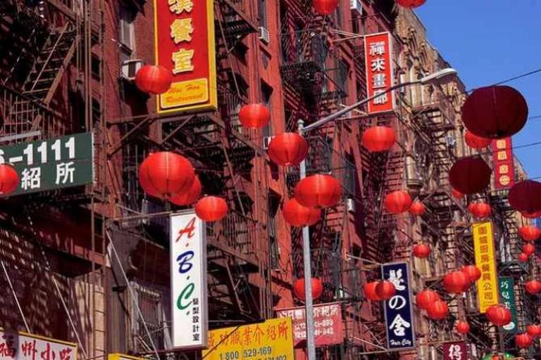 Facade in Chinatown, New York   © Martin Solli/Flickr
