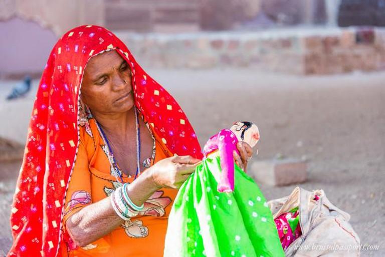 Master puppet maker on the streets of Jodhpur