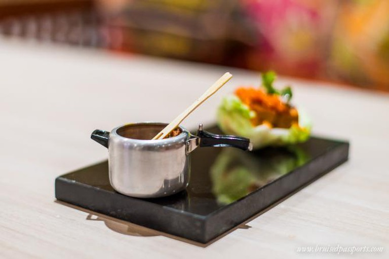 Delectable fusion food at ITC WelcomHotel Jodhpur