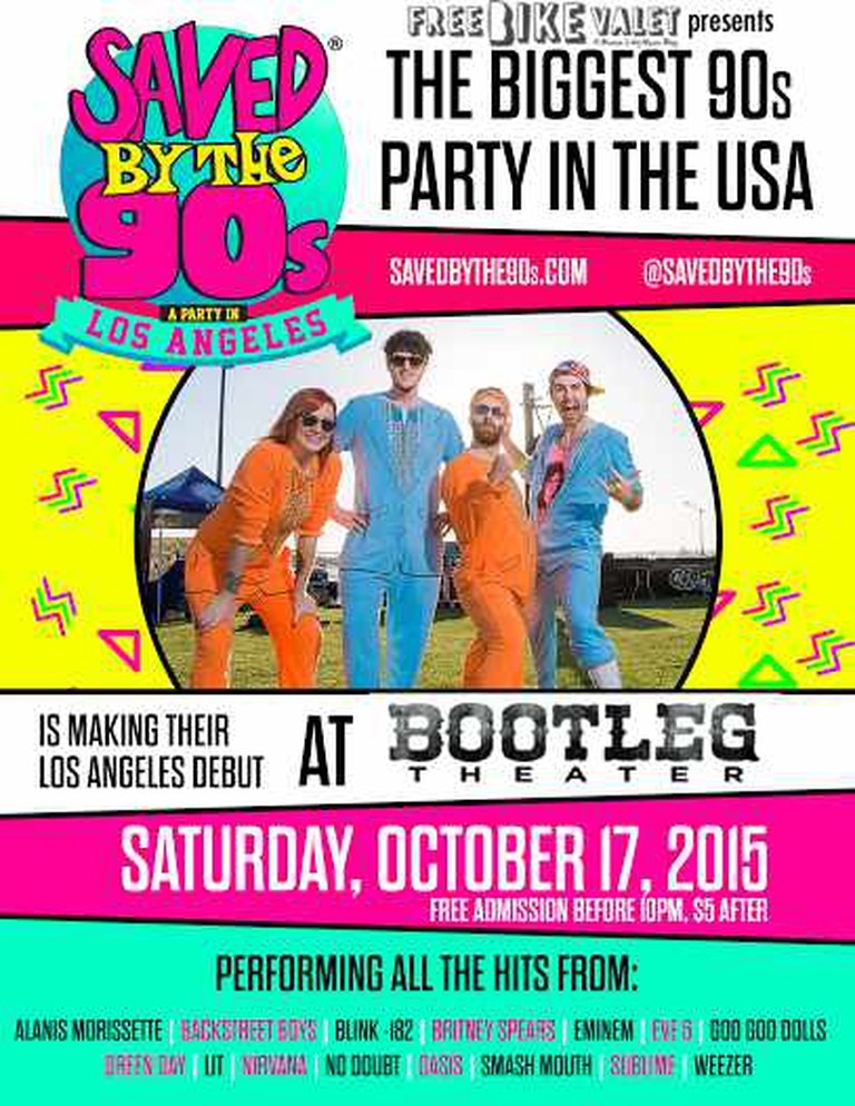 Saved By the 90's at Bootleg Theater