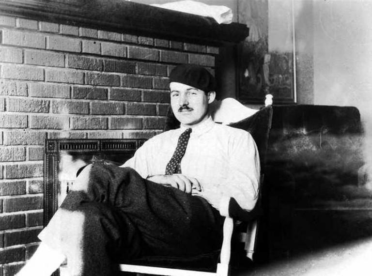 Ernest Hemingway, Paris, circa 1924 I ©Ernest Hemingway Collection/Wikicommons