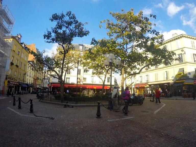Place Contrescarpe and Café Delmas