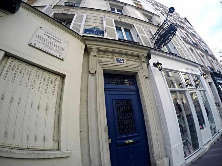 Hemingway's house in Rue Cardinal Lemoine
