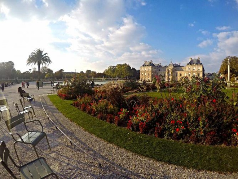 Fall in the Luxembourg Garden