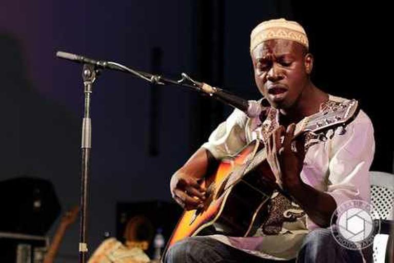 Fatau Keita live at Alliance Francaise d'Accra | © Gerard Nartey