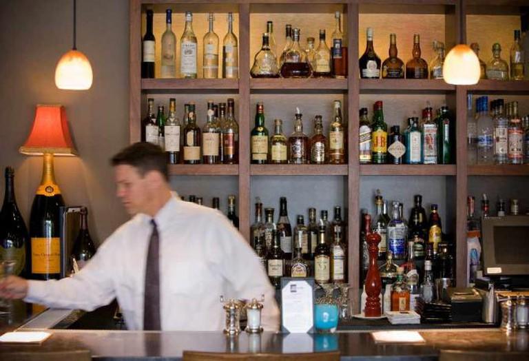 Bis on Main's bar | Photo by Kathryn Barnard/Courtesy Bis on Main
