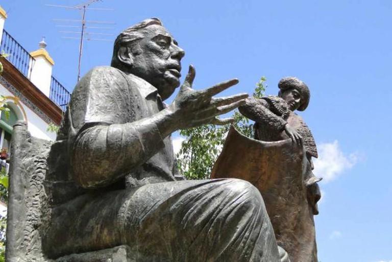 Sculptures in La Alameda, Seville   © Adam Jones/Flickr