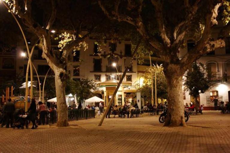 La Alameda, nightlife   © Rafale Tovar/flickr