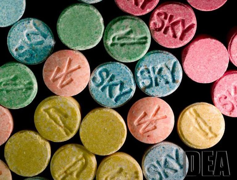 Ecstasy MDMA | © DEA