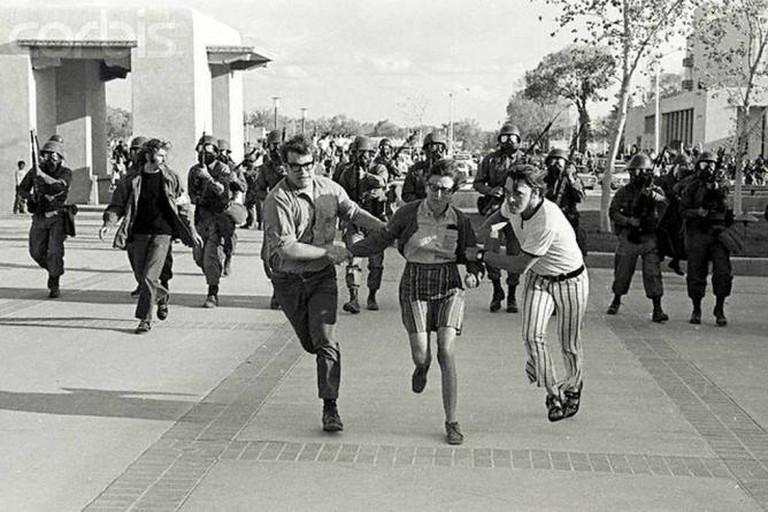 May 1970 | © Steven Clevenger/Corbis/Corbis/Flickr