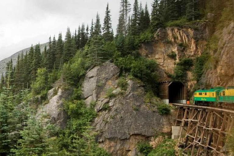 White Pass and Yukon Route Railroad © ThreeIfByBike, Flickr