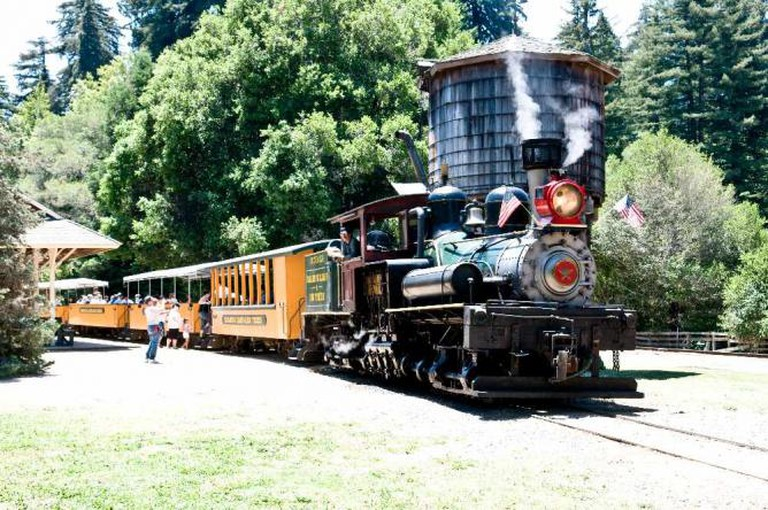 Redwood Forest Steam Train © Josh Hallett