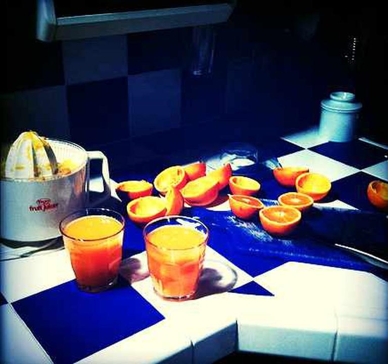 Freshly squeezed orange juice | © Cireremarc/Flickr