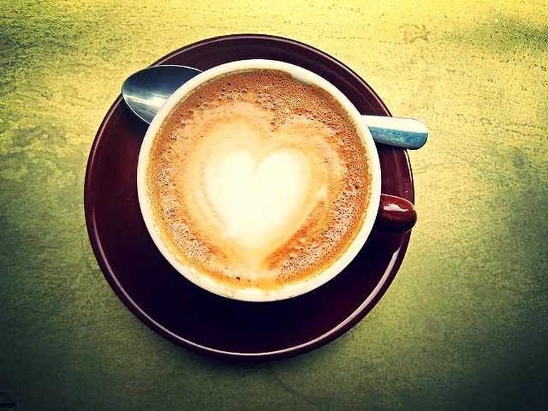 Latte macchiato | © AllisonH./Flickr