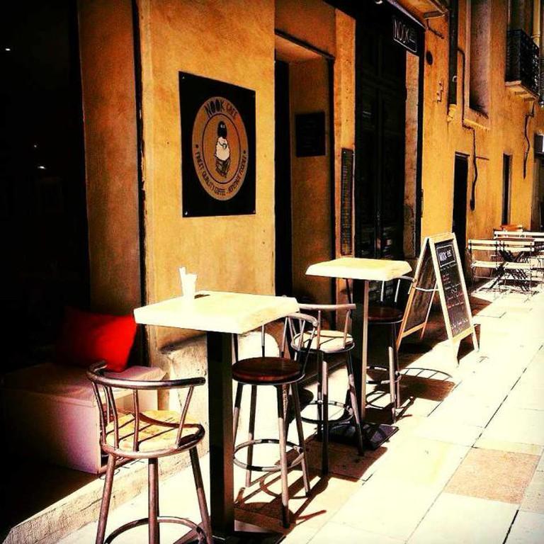 Nook Café exterior | Courtesy of Nook Café