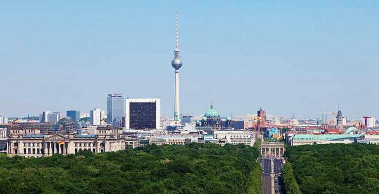 Berlin skyline |© Thomas Wolf/WikiCommons