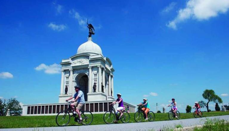 Pennsylvania State Memorial, Gettysburg, Adams County | Courtesy of Destination Gettysburg