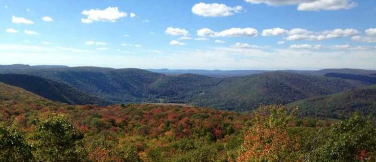 Fall foliage in World's End State Park, Sullivan County | © fishhawk/Flickr