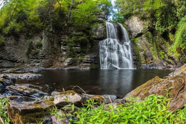 Bushkill Falls, Pike County | © Anthony Quintano/Flickr