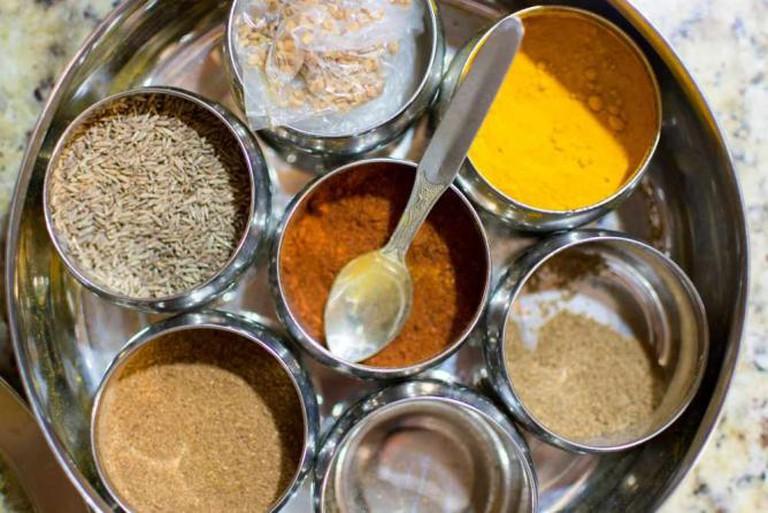Indian spices © David D/Flickr