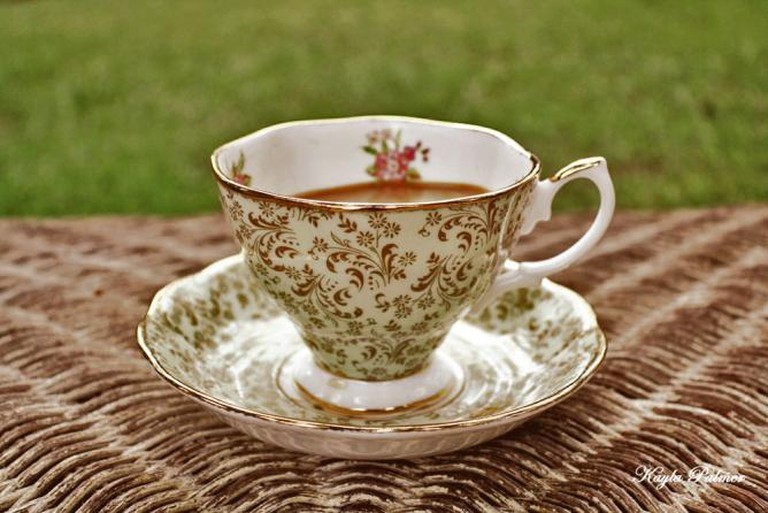 Tea in Vintage China