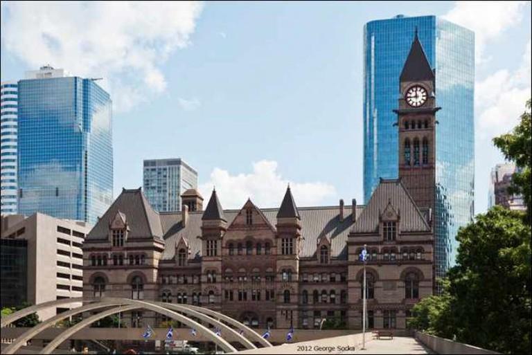 The Old Toronto City Hall | © George Socka/WikiCommons