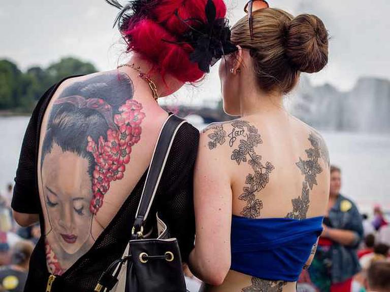 The Tattooed Women   © Andreas Kollmorgen/Flickr