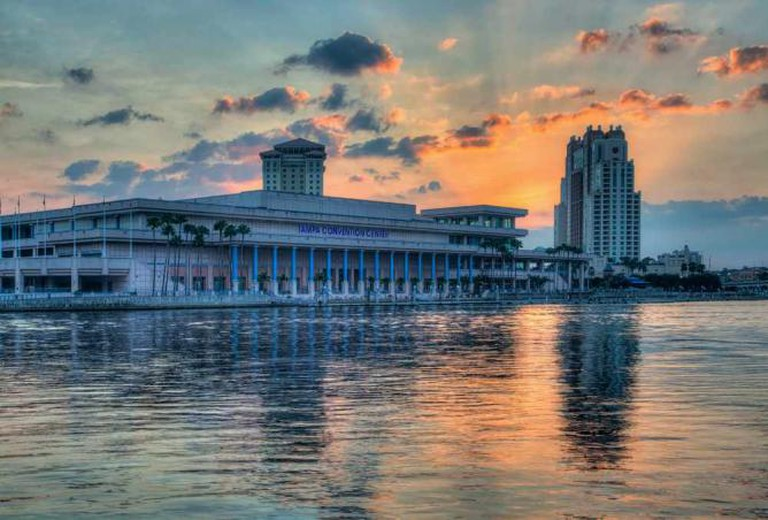 tampa convention center on water
