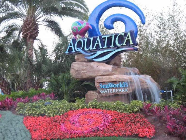 Aquatica entrance