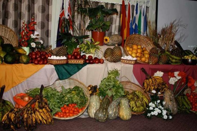 Foods from Liberian Thanksgiving | Ⓒ Denise Miller/Flickr