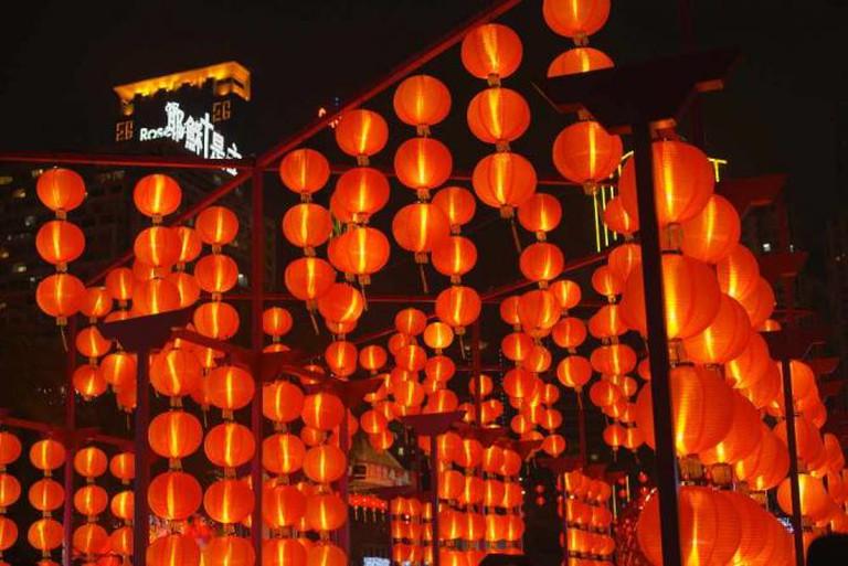 Moon Festival lanterns | Ⓒ Andrés García/Flickr