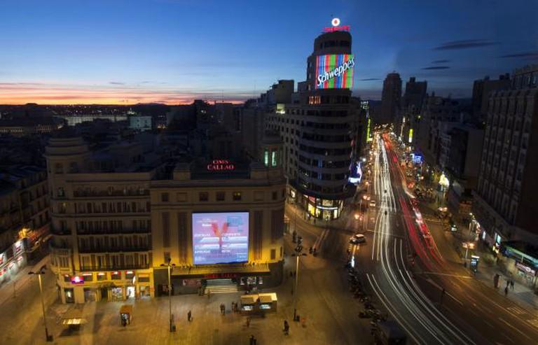 Plaza de Callao, Madrid | © Enrique Gómez/Flickr