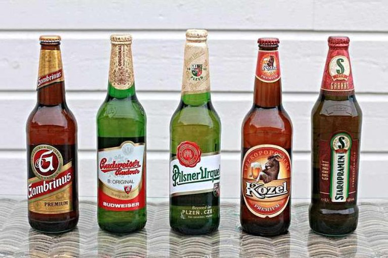 Selection of Czech Beers | © Øyvind Holmstad/Wikicommons