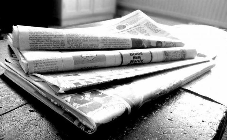 Newspaper | © Jon S/Flickr