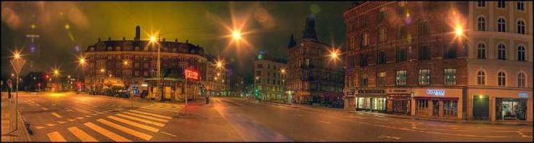 Østerbro at night