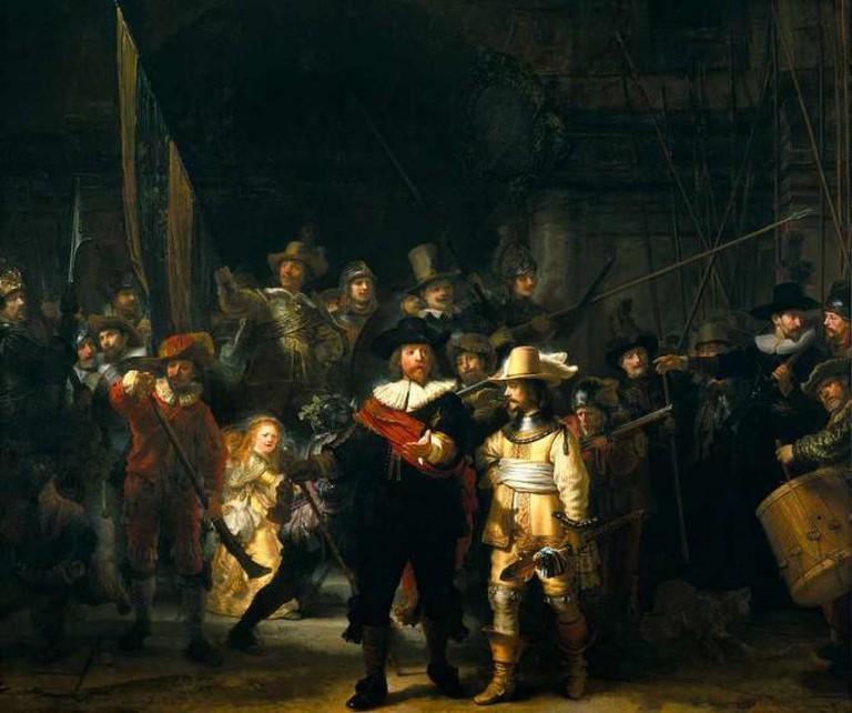 Rembrandt, The Night Watch, 1642, Rijksmuseum, Amsterdam, the Netherlands