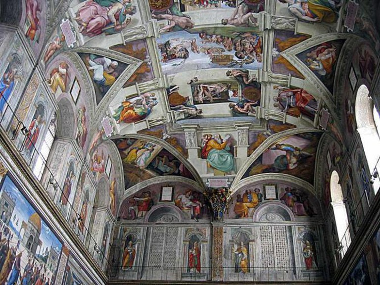 Section of the Sistine Chapel   © Camille King/Flickr