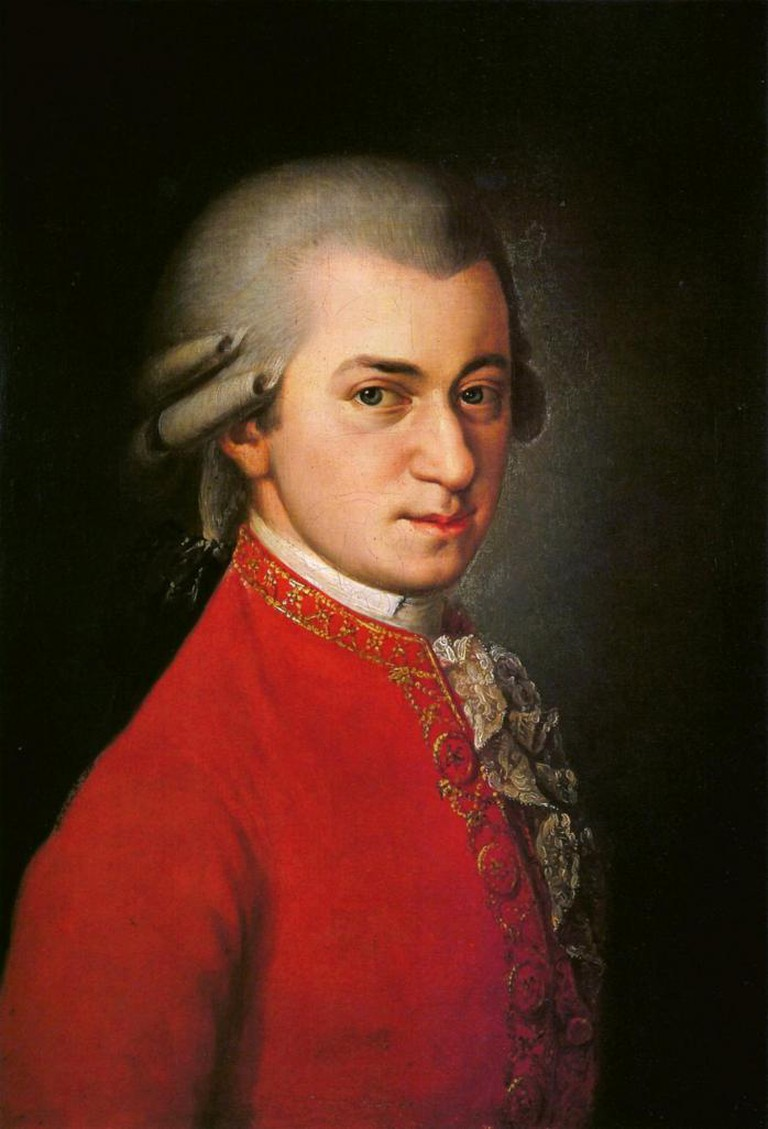Barbara Krafft, Wolfgang Amadeus Mozart, 1819 | © WikiCommons