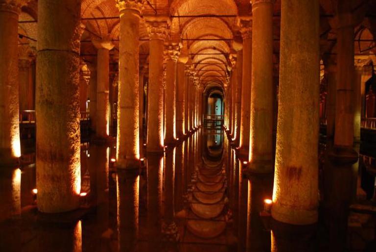 Basilica Cistern, Istanbul | © Dpnuevo/Wikicommons