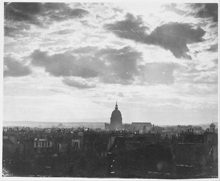 Cloud Study over Paris, circa 1856 I © Charles Marville/Wikicommons