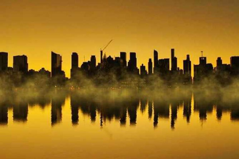 Anthony Quintano captures the Tetris-like qualities in the New York skyline