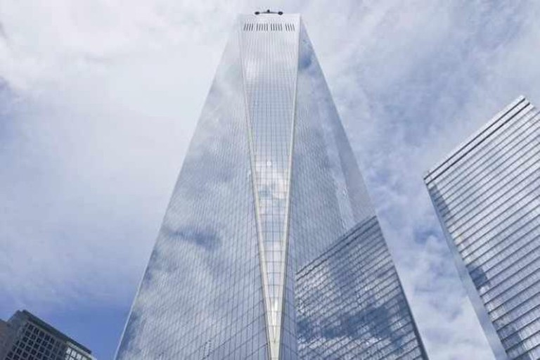 Quintano photographed the opening of One World Trade