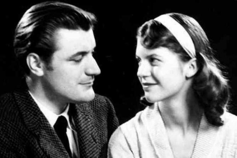 TED HUGHES AND SYLVIA PLATH | © Freddie Phillips/Flickr