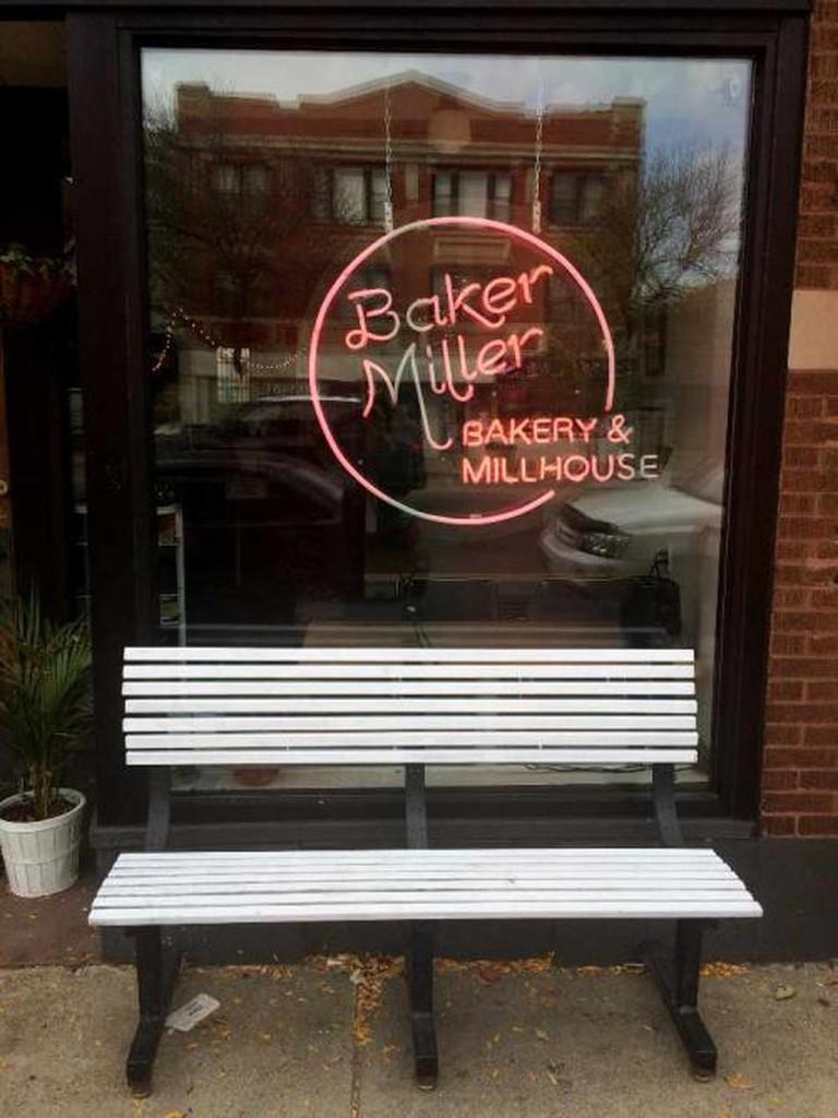Outside of Baker Miller   © Benita Gingerella