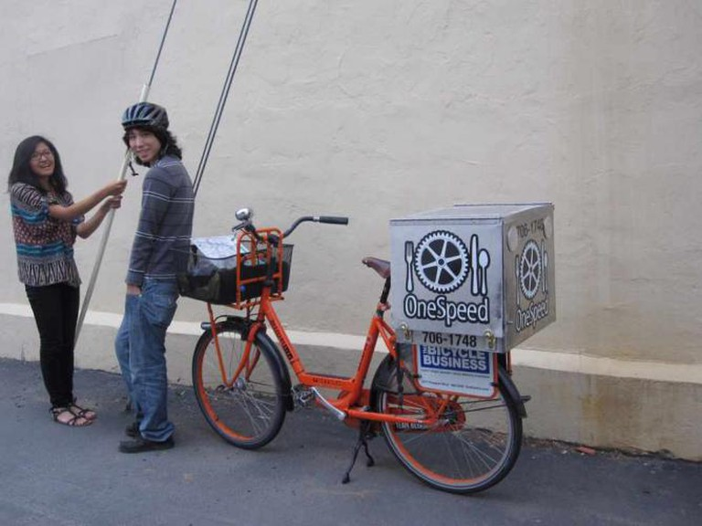 OneSpeed's bicycle delivery service | © mswine/Flickr